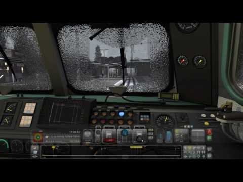 Train Simulator 2017 - Hamburg to Lübeck: Part1 - DB BR218