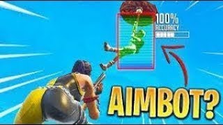 I think I have AIMBOT 🔥 Fortnite BR