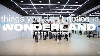 Gambar cover things you didn't notice in ateez wonderland dance practice