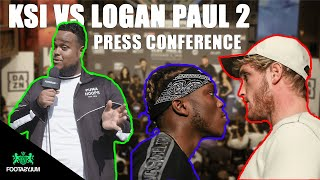 KSI VS LOGAN PAUL 2 PRESS CONFERENCE