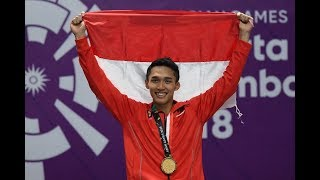 Asian Games 2018: Badminton Gold Medal Match [MS/MD] Highlights & Victory Ceremony