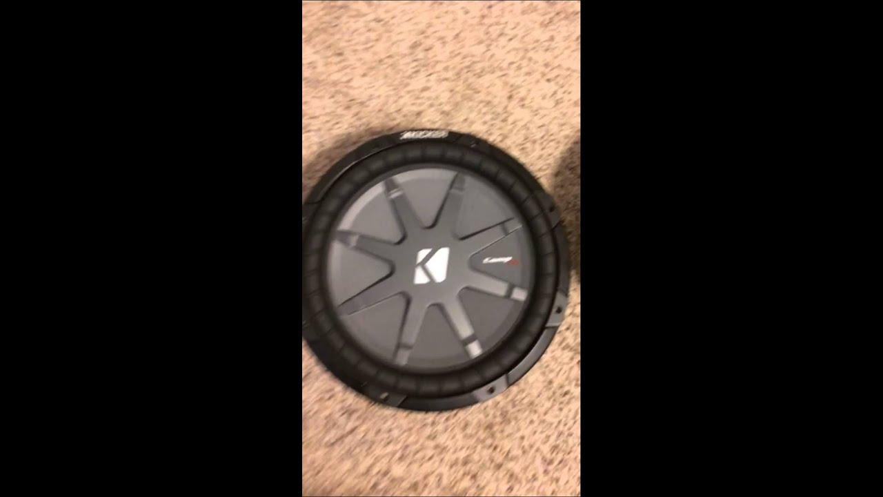 How to tell if your subwoofer is blown