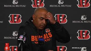 Coach Marvin Lewis on Loss to Steelers | Steelers vs Bengals Week 13 | Dec 4, 2017