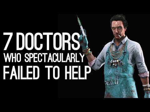 7 Videogame Doctors Who Spectacularly Failed to Help