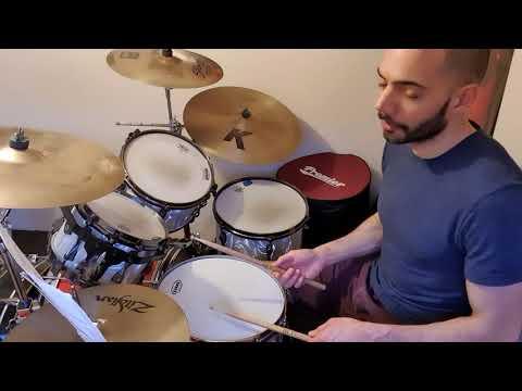 Steve Jordan groove - breakdown