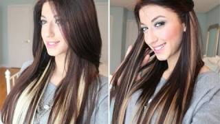Instant Highlights with Luxy Hair Extensions