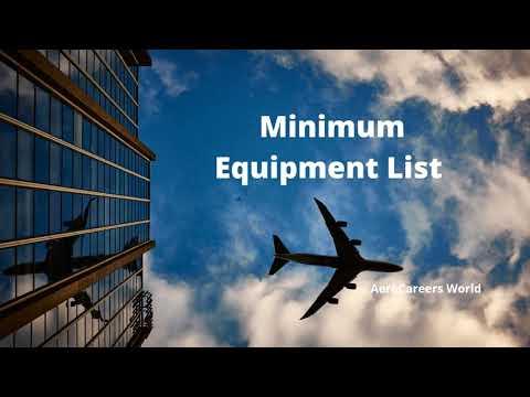 Minimum Equipment List (MEL)
