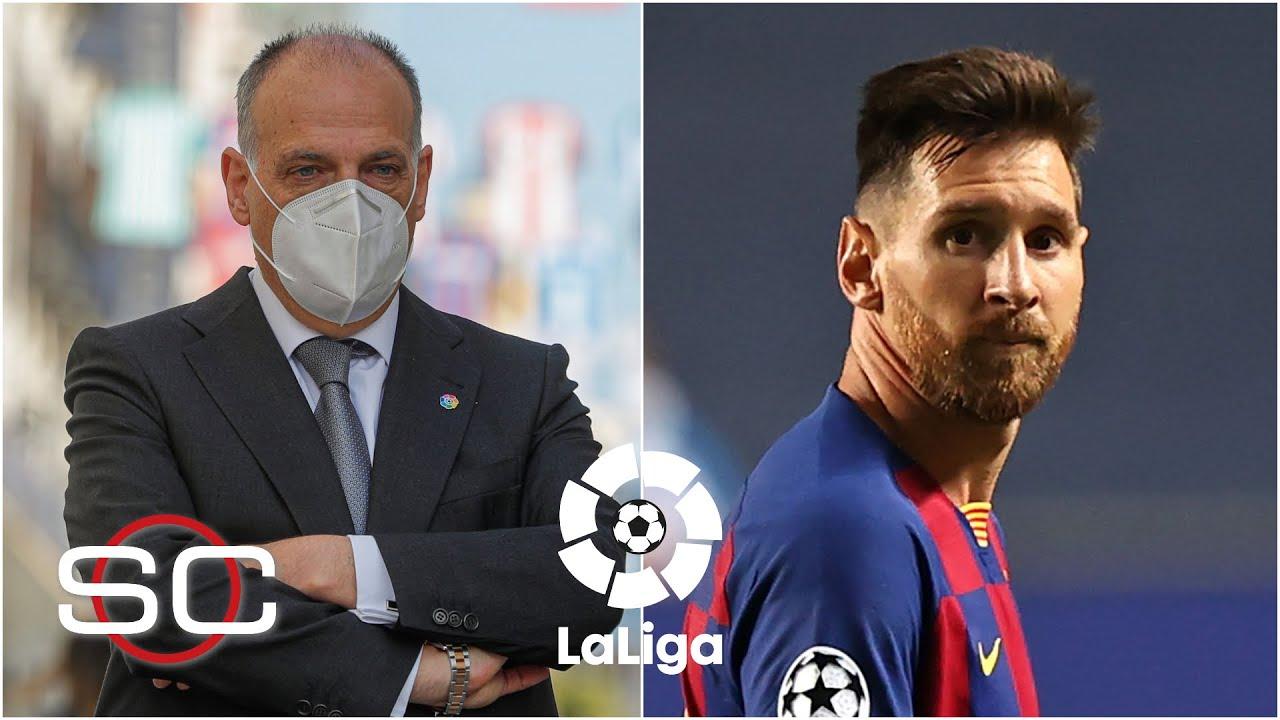 CASO MESSI La Liga se pronuncia sobre el caso de Lionel Messi y apoya al Barcelona | SportsCenter