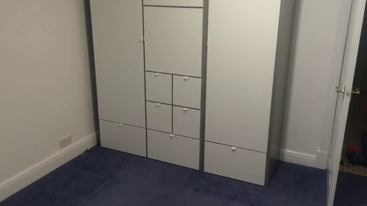 The Visthus Wardrobe From Ikea Assembled In Sketty