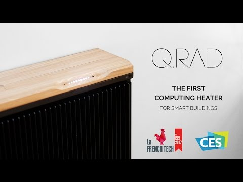 Introducing the third generation of the Q.rad computing heater - CES 2017
