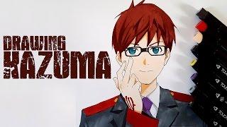 drawing Kazuma from Noragami