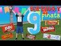 giant birthday piñata