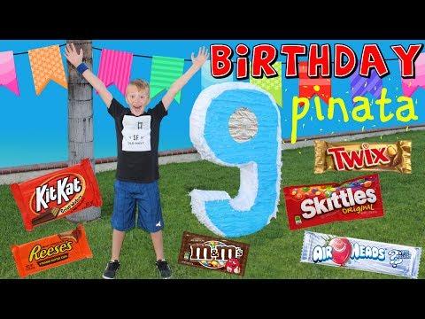 GIANT BIRTHDAY PIÑATA!!