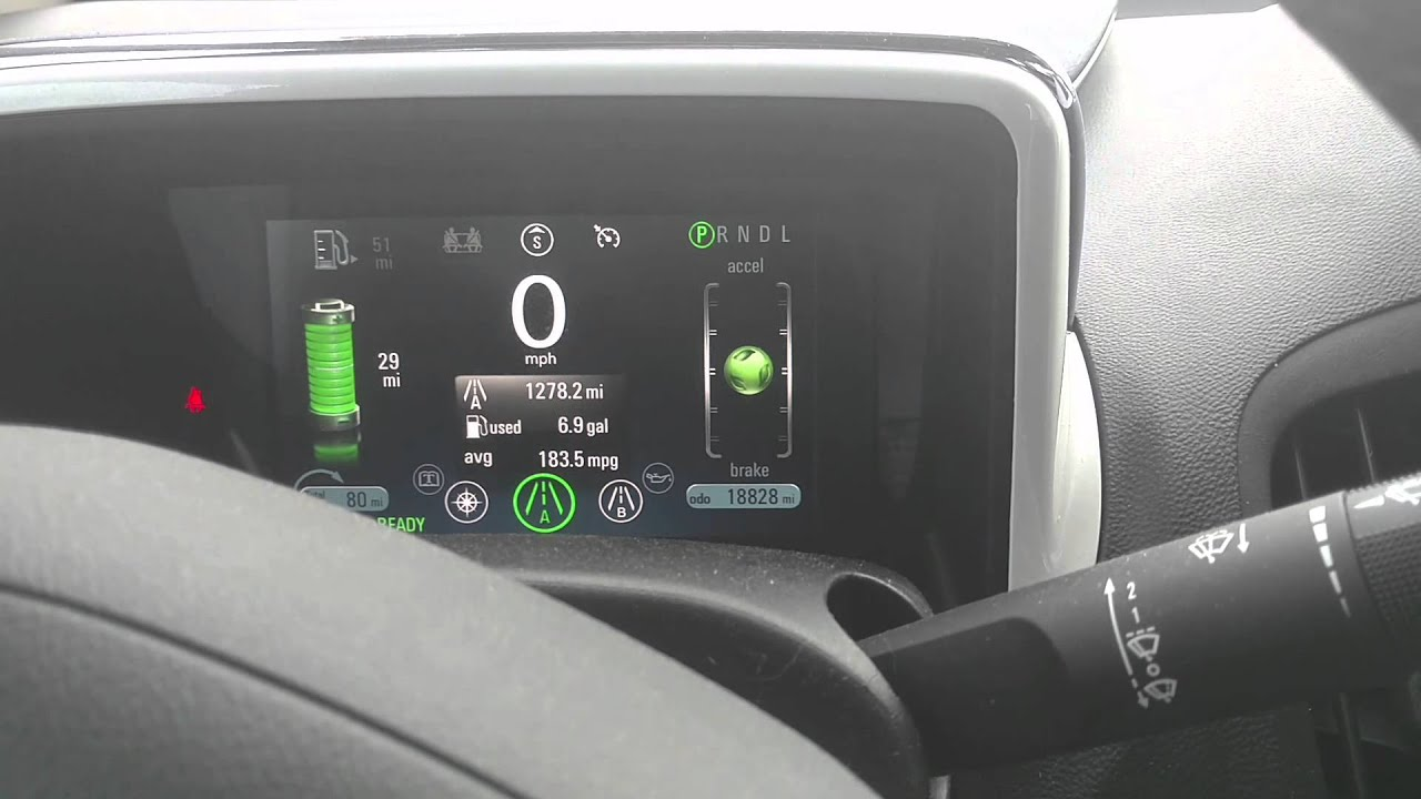 2012 Chevy Voltfueling With Gas Youtube Volt