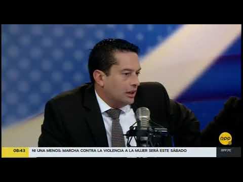 Entrevista a Miguel Torres en RPP sobre la Ley Antitransfuguismo