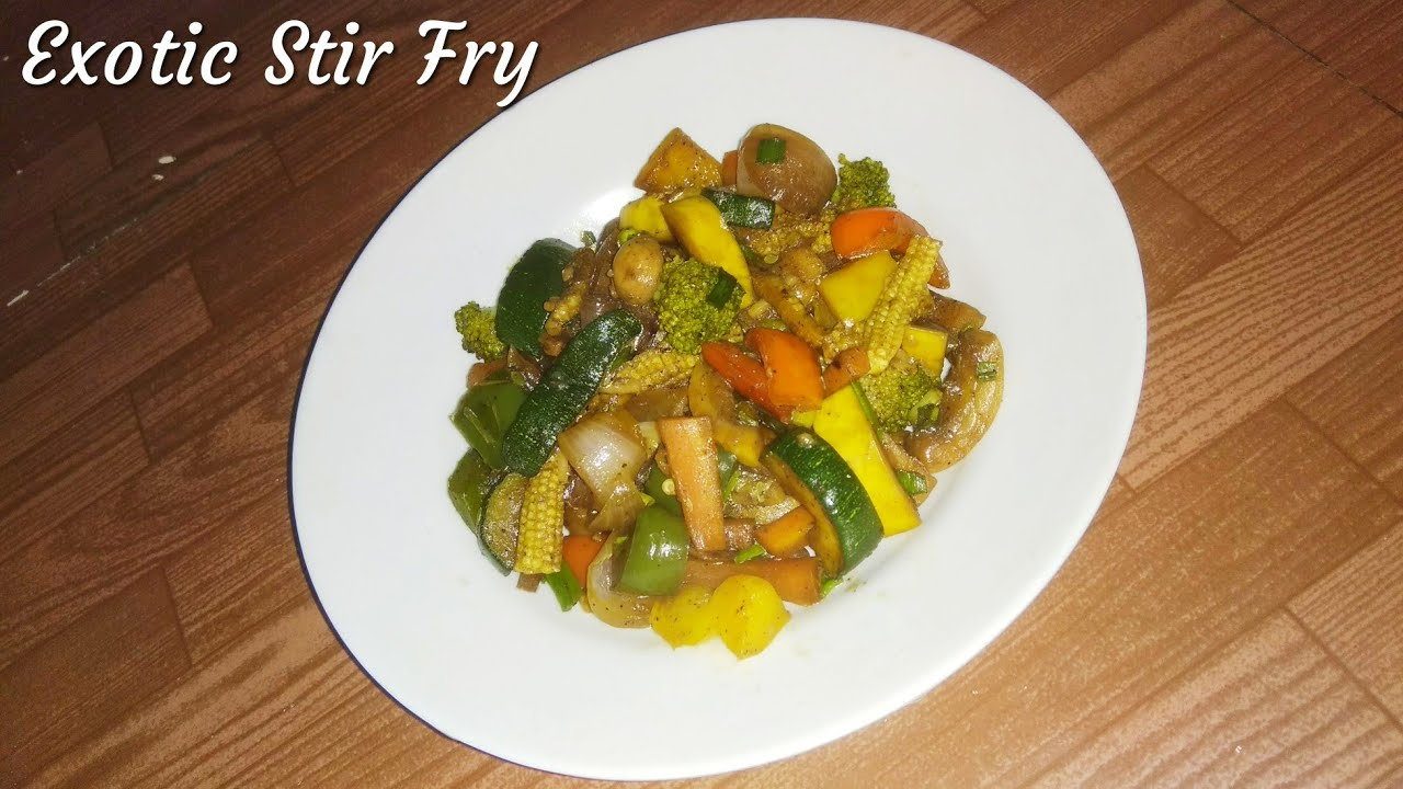 Exotic vegetable stir fry asian vegetable stir fry recipe youtube exotic vegetable stir fry asian vegetable stir fry recipe forumfinder Image collections