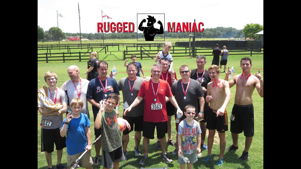 Rugged Maniac Mud Run May 9th 2016 Dade City Fl