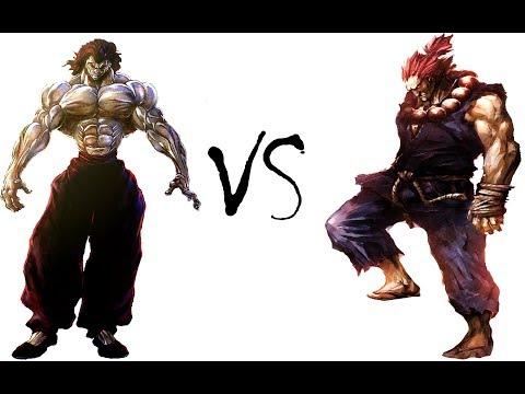 (1V1) Yujiro Hanma VS Shin Akuma