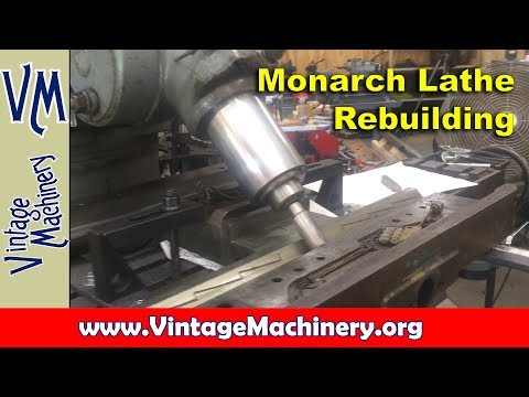 Machine Rebuilding: Measuring Wear in a Lathe Bed and Building up the Saddle