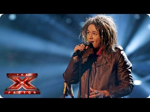 Luke Friend sings Your Song  Elton John   Week 6  The X Factor 2013