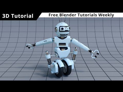 Blender tutorial: Robot