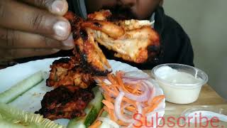 Eating YUMMY Tandoori Chicken|Eating Time|ASMR