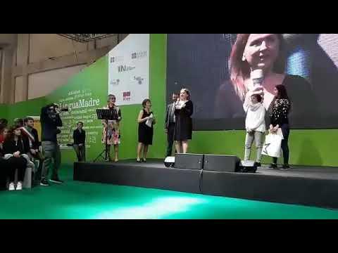 Premiazione Zhanna Stankovych Salone libro Torino
