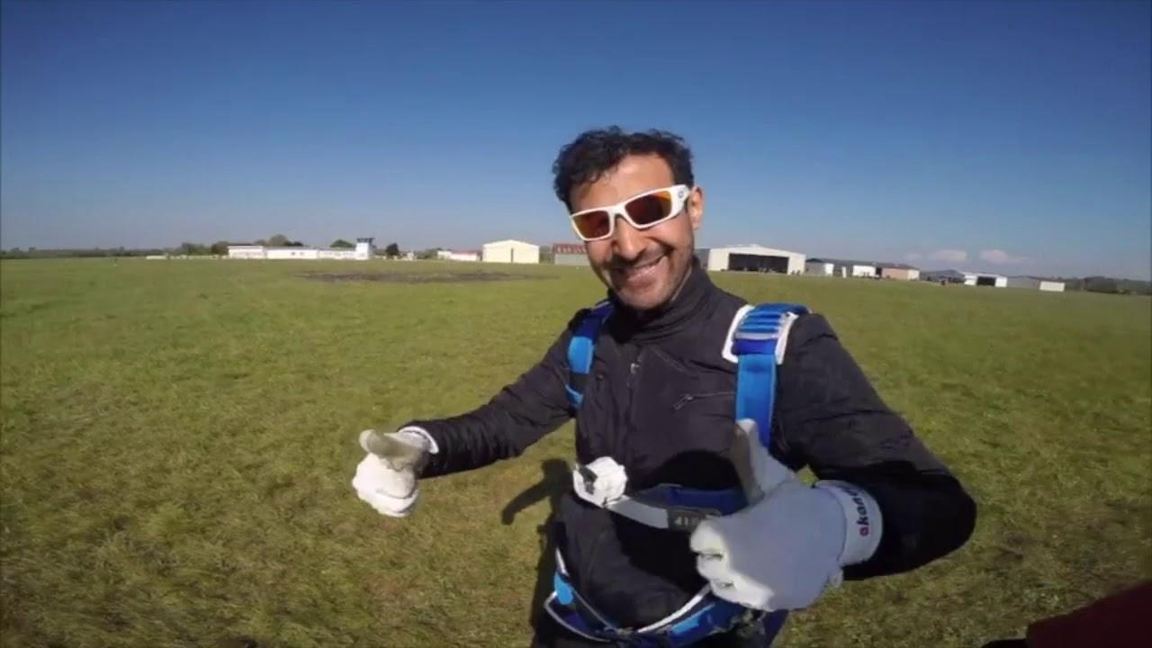 Saut en parachute #Omnilog