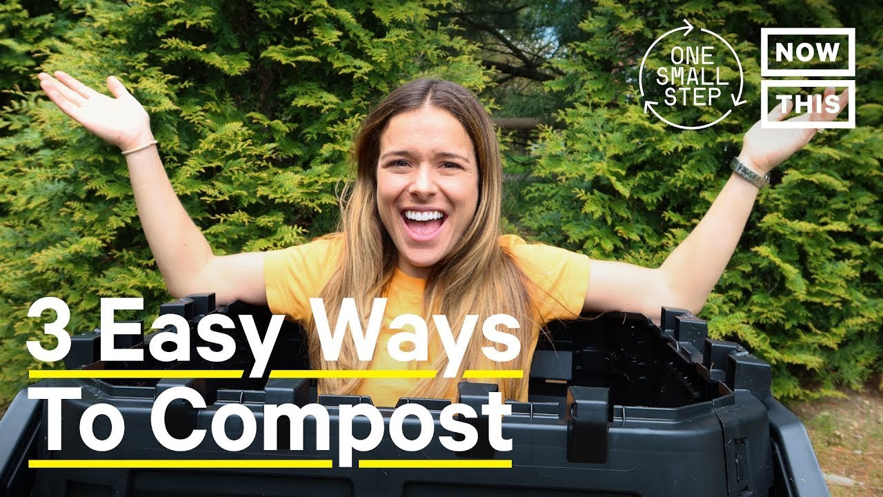 3 Easy Ways to Compost: A Beginner's Guide | One Small Step | NowThis