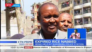 Three suspects arrested at a go-down repacking expired rice in Kariobangi