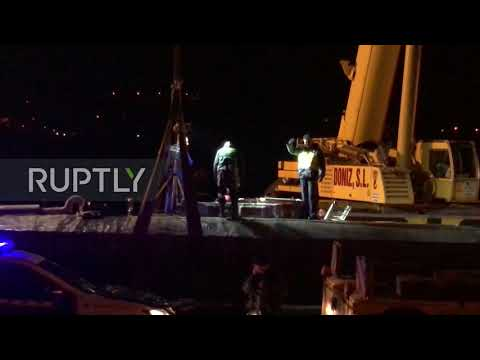 Spain: 'Narcosubmarine' carrying 3,500kg of cocaine seized