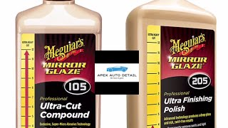 Meguiars 105205 combo Plus residue control tips and tricks