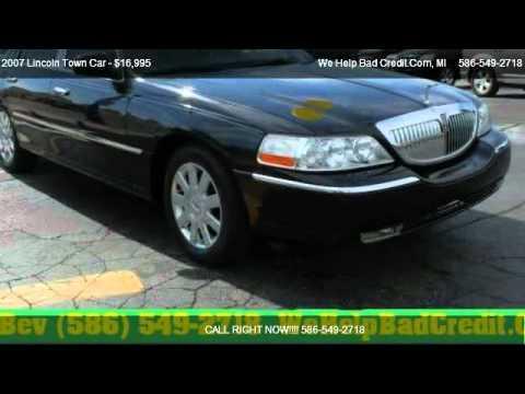 2007 Lincoln Town Car Designer Series For Sale In Detroit Mi