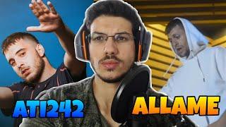 Allame -   uruk Elma ft  Ati242 - U  uyoz Gokyuzune REACTiON  TEPKi Resimi