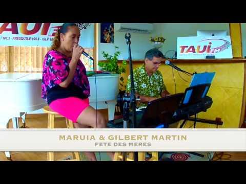 LIVE@TAUIFM Maruia & Gilbert Martin JUIN 15