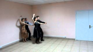 Вальс-прогулка. Схема танца
