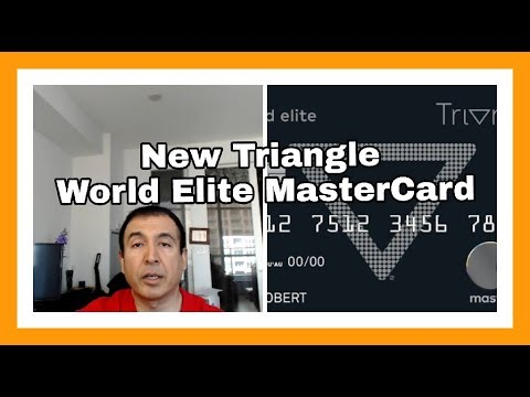 New - Triangle World Elite MasterCard | Another Free World Elite? |