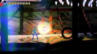 Shinobi 3DS - Sarah gameplay - Oboro Village (Better Quality)