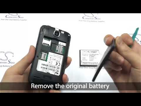 WIKO Ozzy battery replacement How to replace Cameron Sino battery CS WKZ005XL