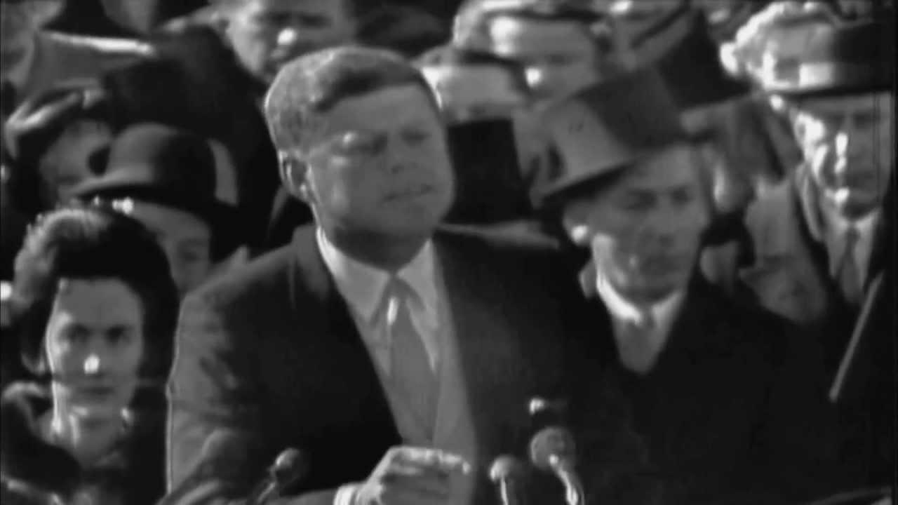 president kennedy inaugural speech