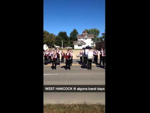 West Hancock middle school band