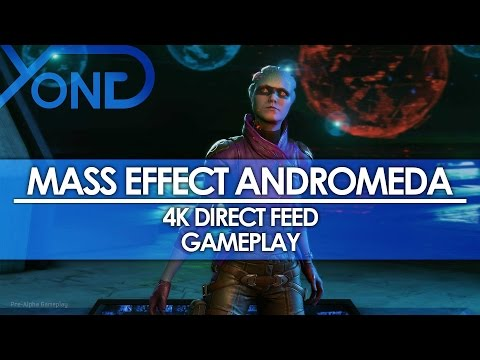Mass Effect Andromeda - 4K Direct Feed Gameplay
