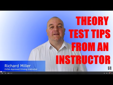 Theory Test Tips - Theory Test Questions and Answers & Hazard Perception Explained