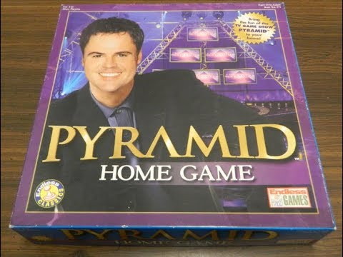 Laugh And Think Your Way To The Top – Pyramid Home Game
