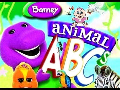 Barney Animal ABCs
