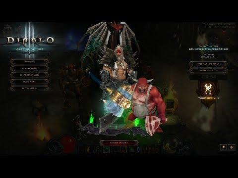 Diablo 3 Season 12 Start/ Speed Leveling/Farming IK HOTA Barb