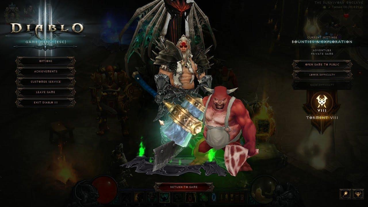 Diablo  Season Start  Barb Build