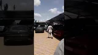 Rev Obofour shows off his cars after gifting15 cars to people