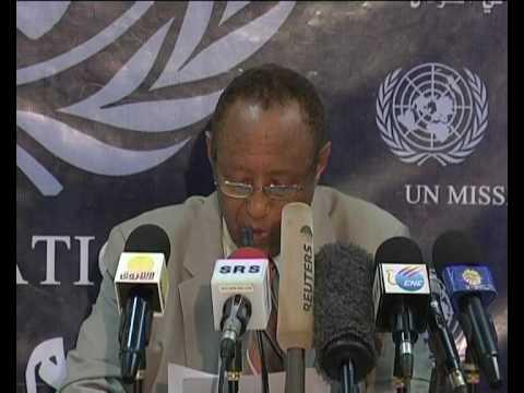 MaximsNewsNetwork: SUDAN UNMIS's HAILE MENKERIOUS IN KHARTOUM