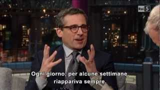 Steve Carell @ David Letterman Show 12/03/13 SUB ITA